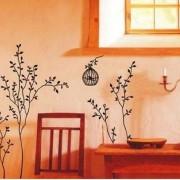 Walplus-Vinilo-adhesivo-decorativo-para-la-pared-diseo-de-rboles-con-jaulas-de-pjaros-0-1