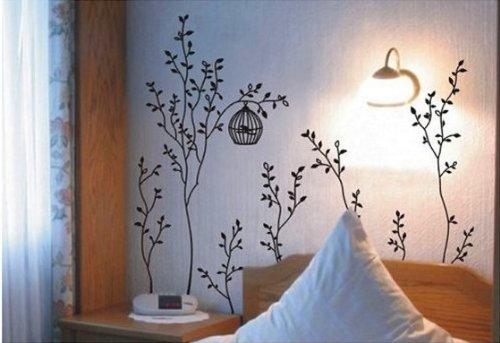 vinilos de arboles para paredes