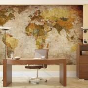 Fotomural-mapamundi-Mural-mapa-con-relieve-decoracin-mural-XXL-mapamundi-en-proyeccin-de-Miller-GREAT-ART-0-2