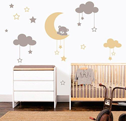Vinilo decorativo infantil dulces sue os for Vinilos para dormitorios infantiles