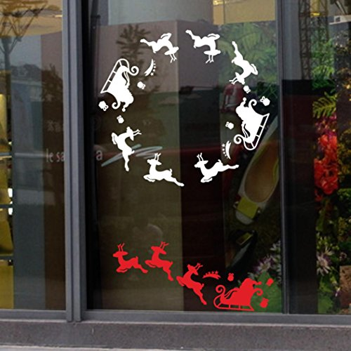 FAMILIZO-Etiquetas-Engomadas-De-La-Ventana-De-La-Etiqueta-De-La-DecoraciN-De-La-Navidad-0-0 Escaparates decorados con vinilos de Navidad
