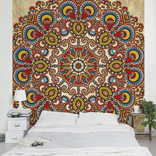 Fotomural mandala decorativo for Papel adhesivo pared barato