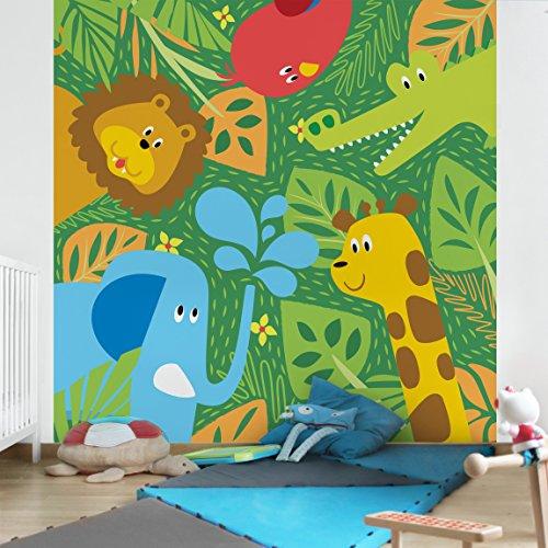 Fotomural infantil animales del zoo - Papel pintado animales ...