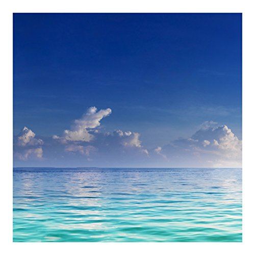Fotomural de playa soleada for Papel de empapelar barato