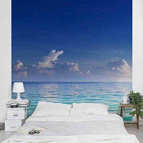 Fotomural de playa soleada for Papel pintado murales decorativos