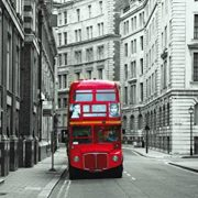 Londres-Red-Bus-Pster-Fotomural-160-x-115cm-0