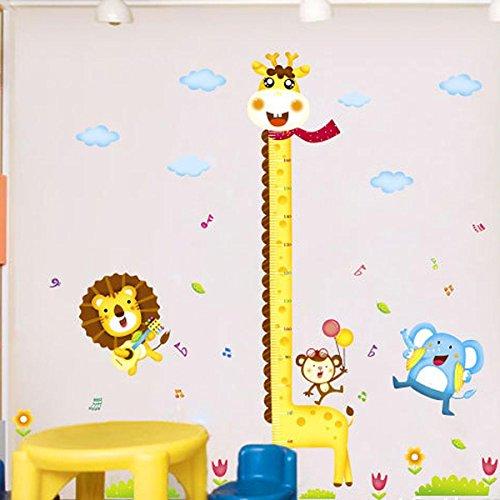Medidor infantil divertido para la pared for Vinilos para pared infantiles