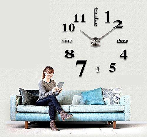 Vinilo reloj de pared - Reloj decorativo de pared ...