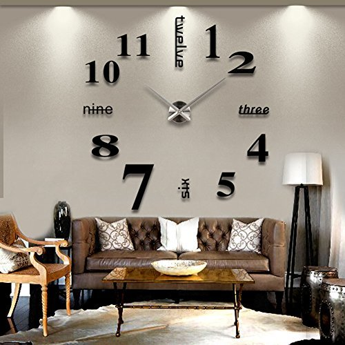 Vinilo reloj de pared for Oferta vinilos pared