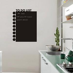 Decorar la cocina con vinilos decorativos en - Vinilo pizarra cocina ...