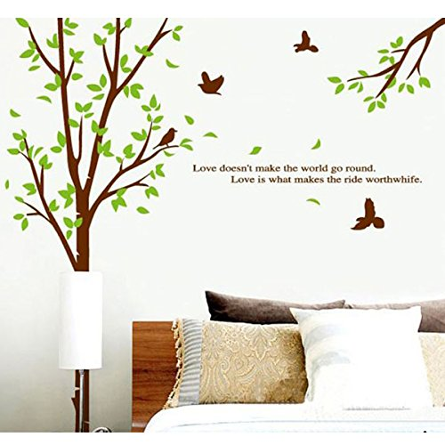 Vinilo decorativo diente de le n con mariposas for Frases en vinilo para pared