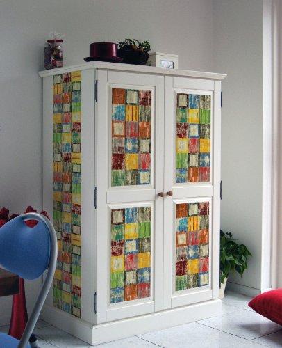 L mina adhesiva para decorar armarios y espejos for Pegatinas para muebles