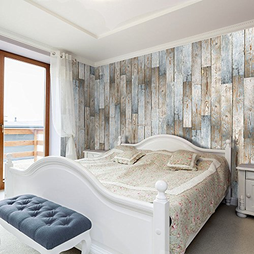 Fotomural de tablas de madera for Fotos de papel decorativo