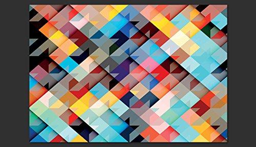 Fotomural adhesivo de un mosaico de colores - Mosaicos de colores ...