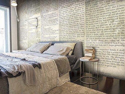 Fotomural de letras en ingl s como si fuera un libro for Fuera de oficina en ingles